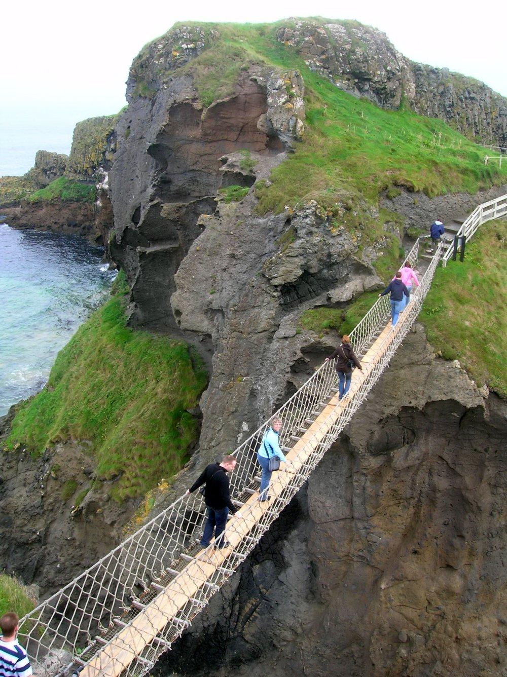 Carrick-a-Rede Rope Bridge, N.Ireland