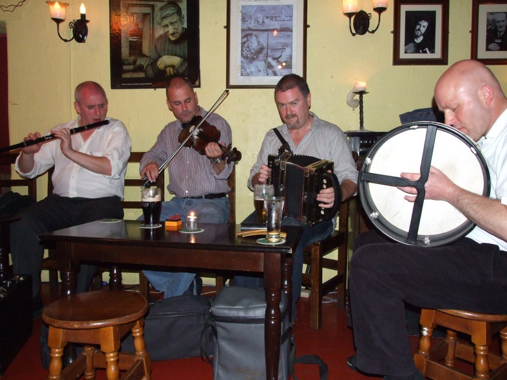 Musicians - Celtic Spirit Session in Galway