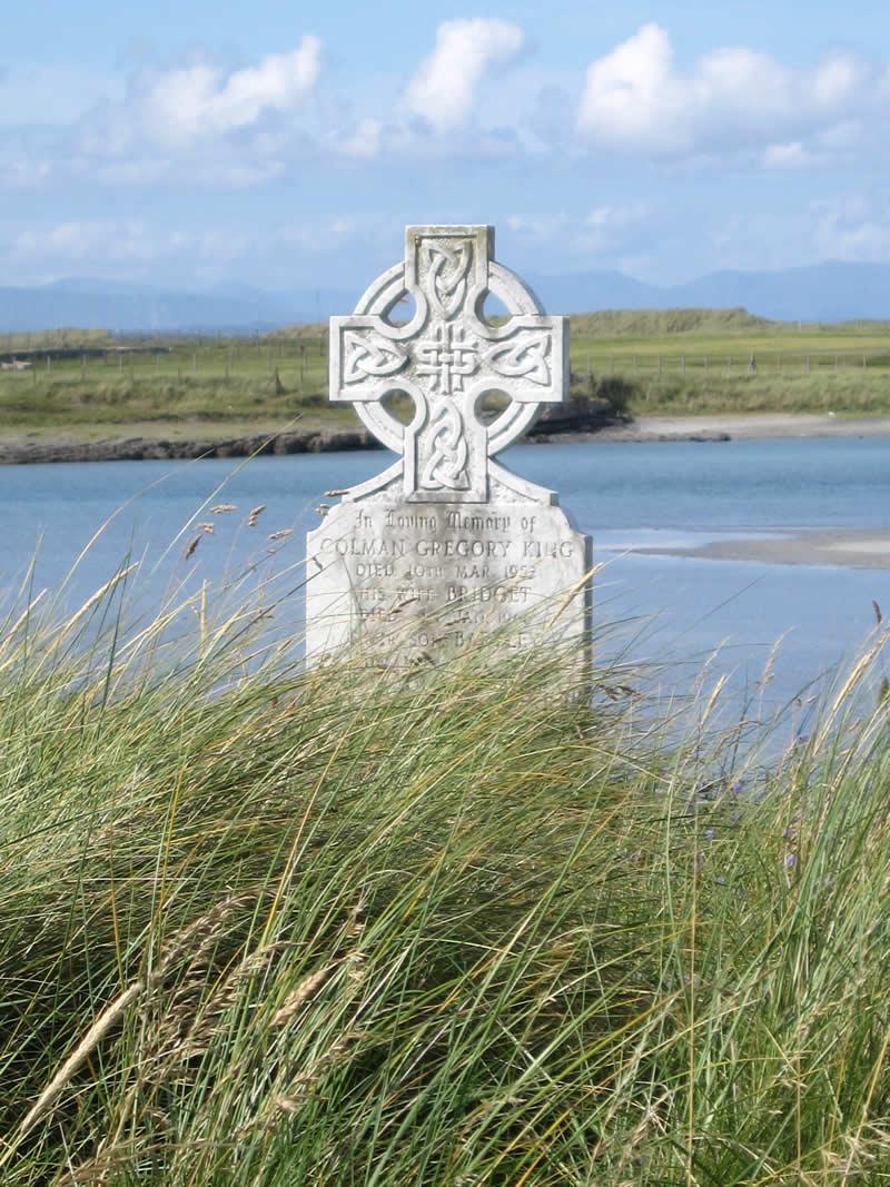 Keltisches Kreuz auf dem Friedhof Inishmore