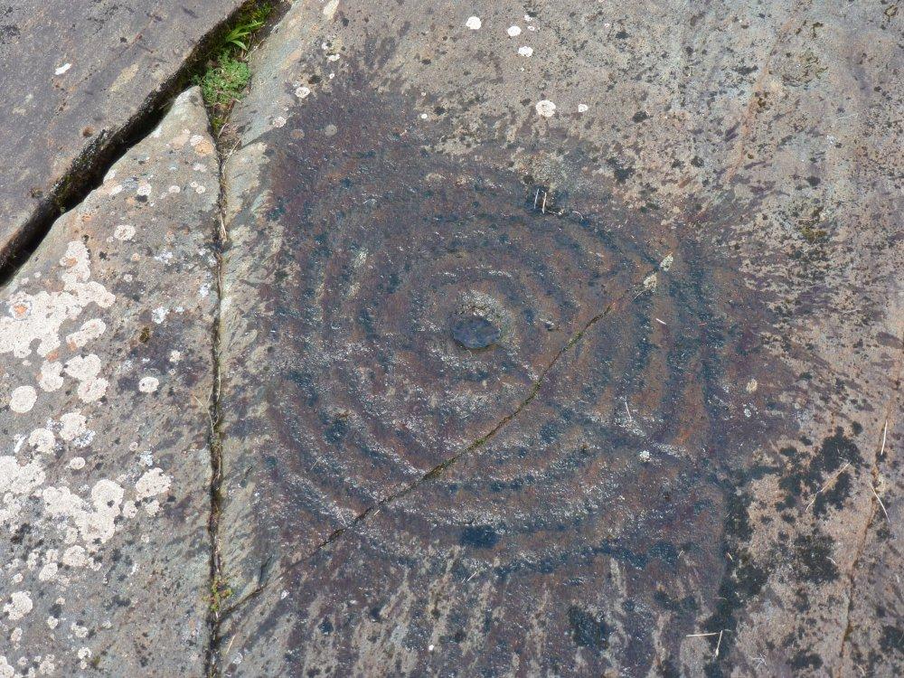Felskunst Achnabreck, Schottland