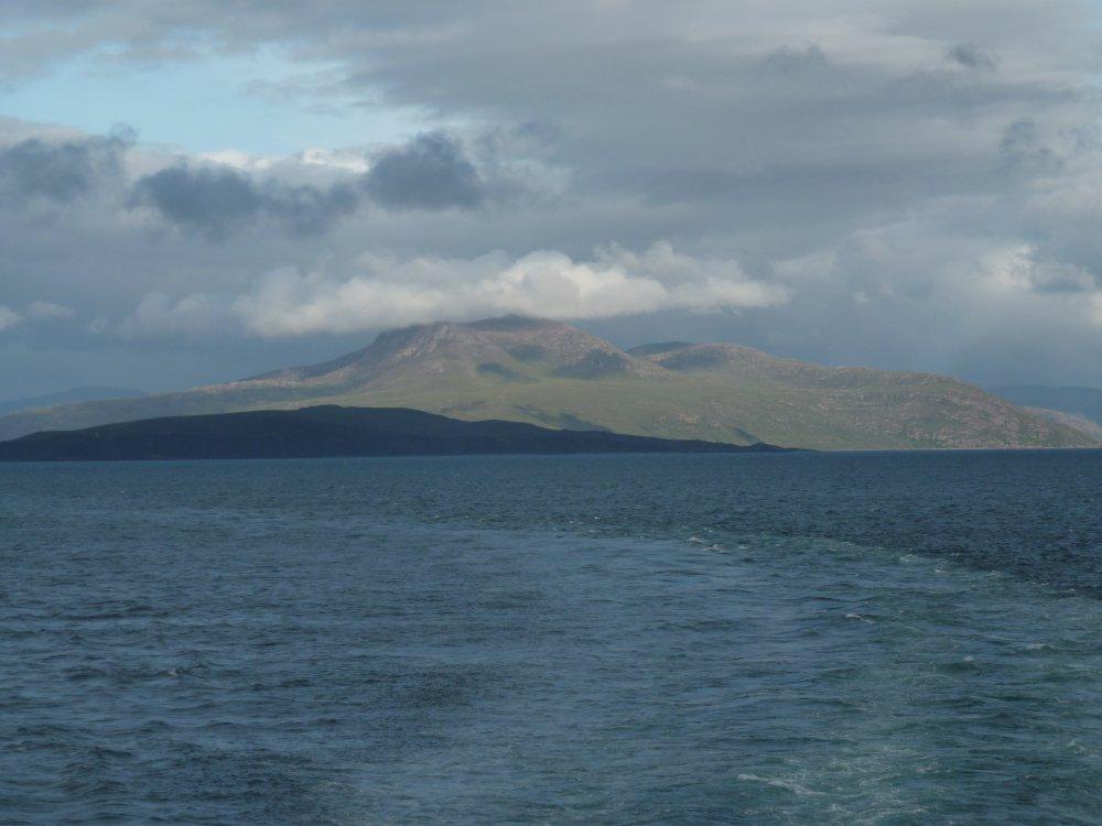 Ueberfahrt nach Lewis, Schottland