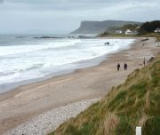 Ballycastle Strand, Co. Antrim, Nord Irland