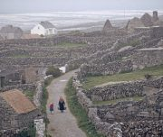 Inishmaan, Aran Islands, altes Foto Inselreise