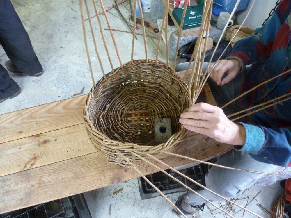 Traditional Basket Making : Traditional basket making from celtic spirit