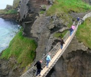 Geschichten von Celtic Spirit Carrick a Rede Bridge Nordirland