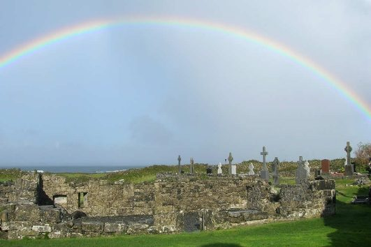 Seven Churches Aran Islands