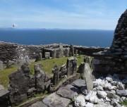 Auf den Spuren der frühchristlichen keltischen Heiligen in Irland. Skellig Michael