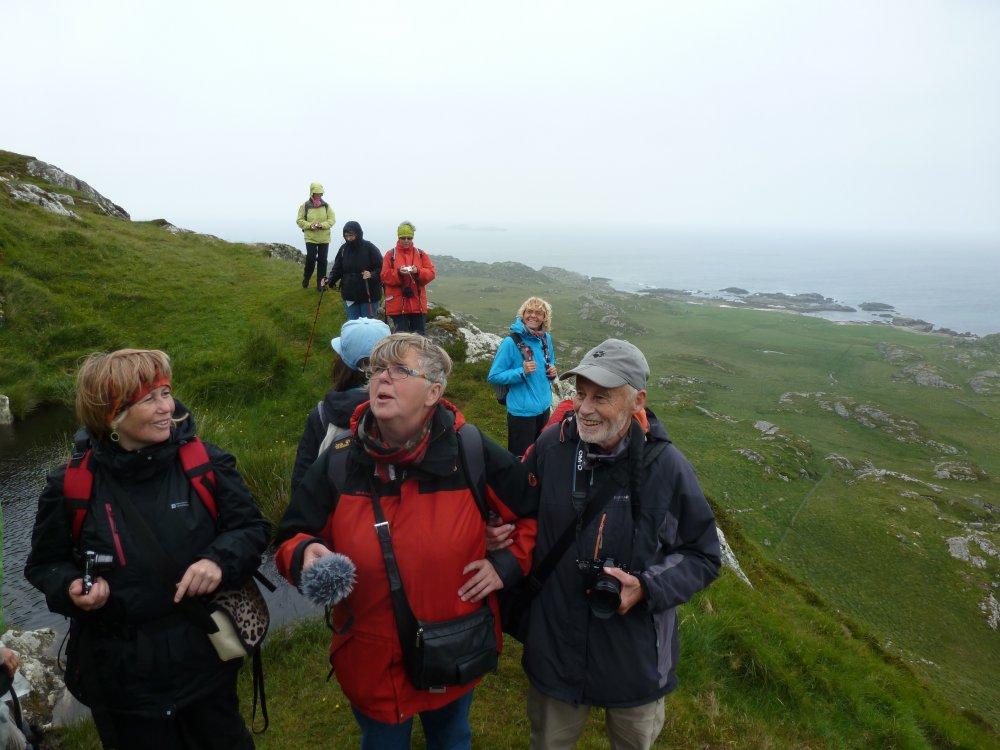 Wandern auf Iona, Schottland