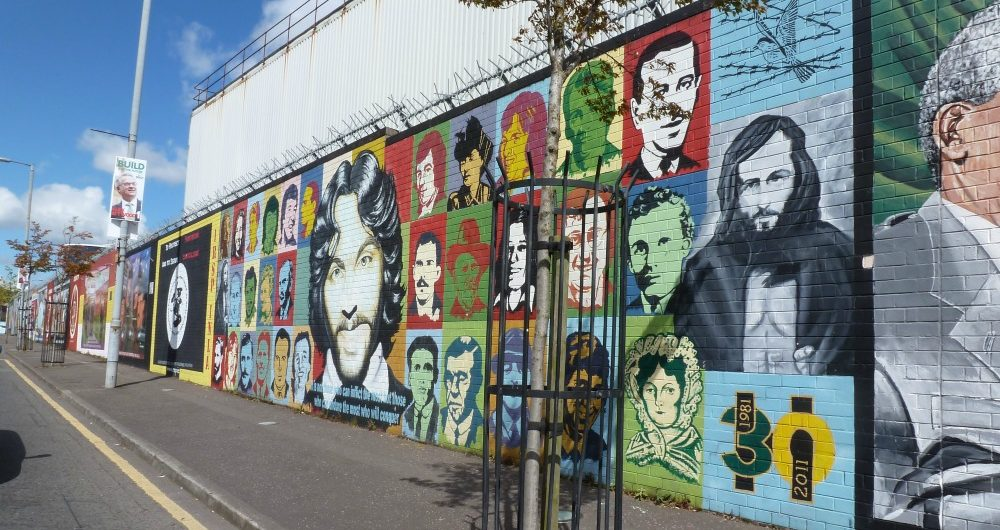 Wandbild Belfast