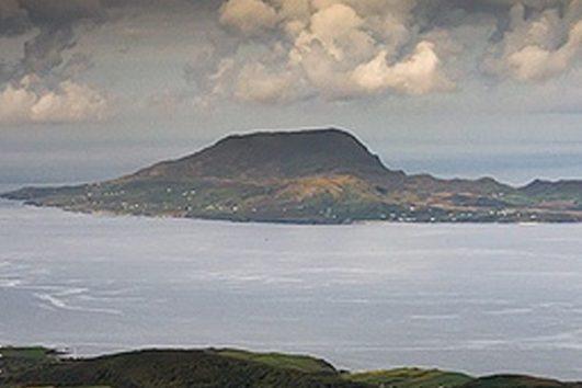 Clare Island, Ireland, Inselferien