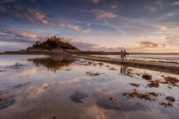 St Michael's Mount, Cornwall Reise