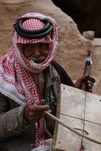 Beduine musician